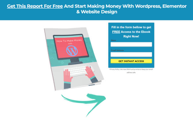 How To Make Money With Wordpress, Elementor & Website Design